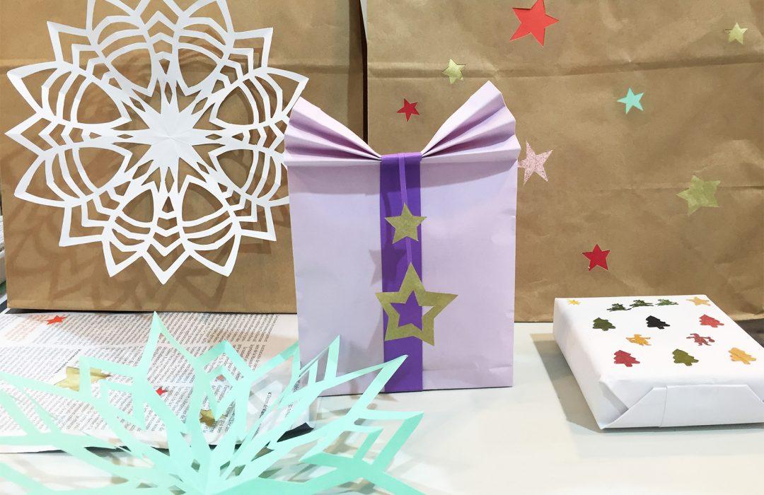 Emballages cadeaux éco-responsables