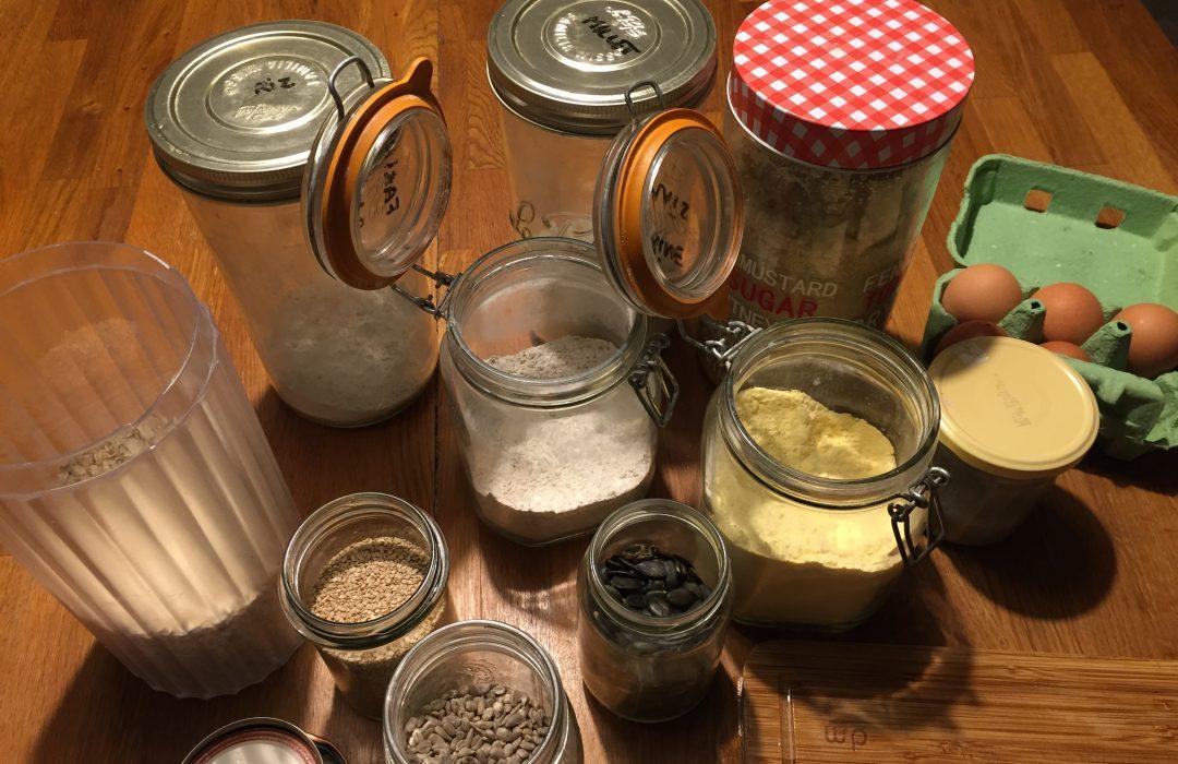 Cookies aux 3 graines et flocons d'avoine