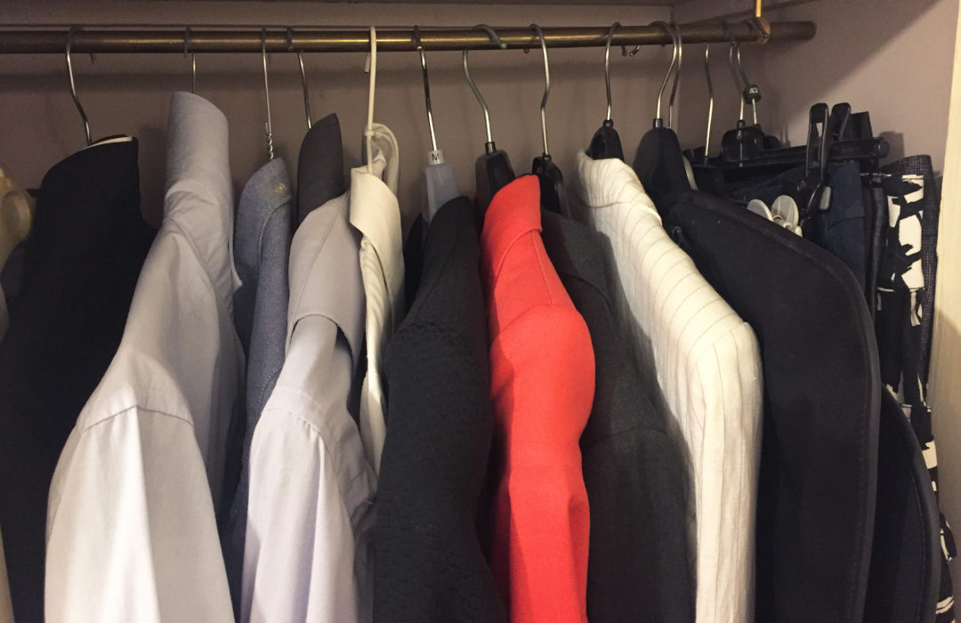 Un dressing minimaliste