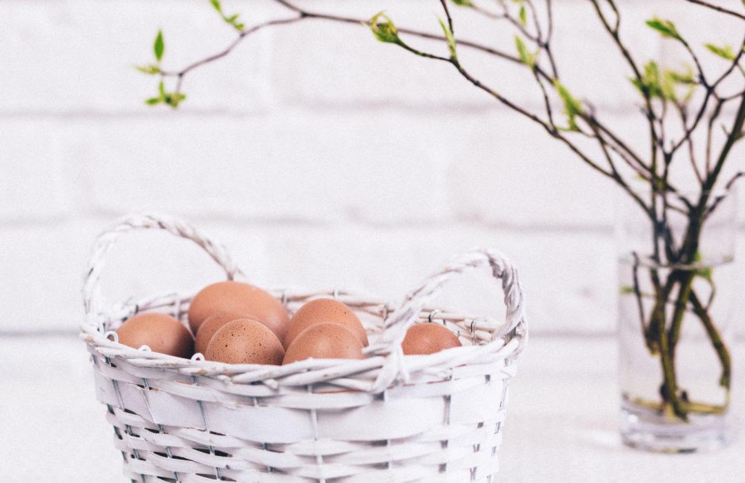 Chasse aux œufs en mode zéro déchet