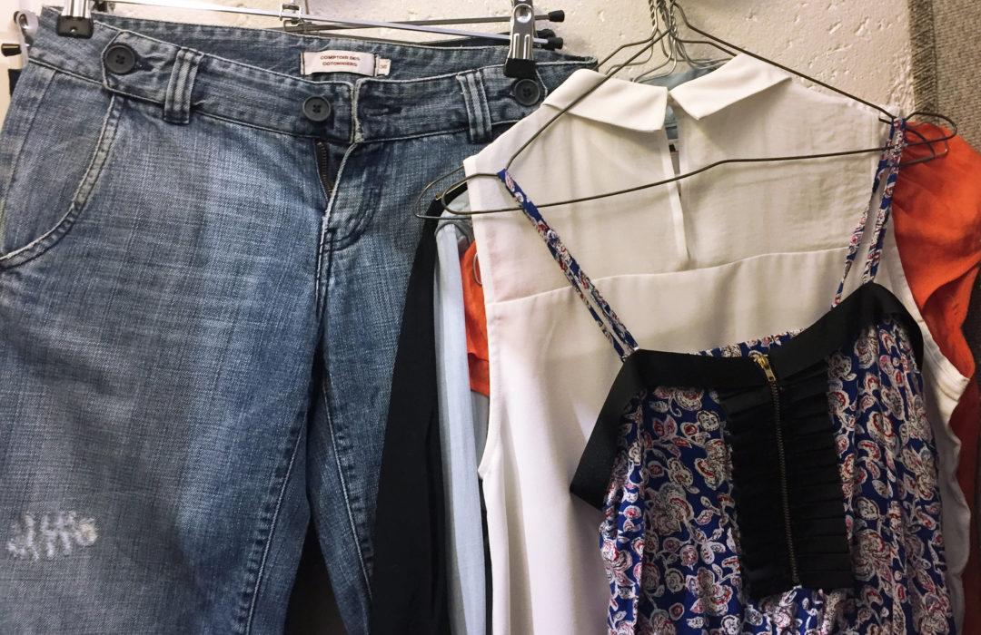 Mes essais pour un dressing éco-responsable