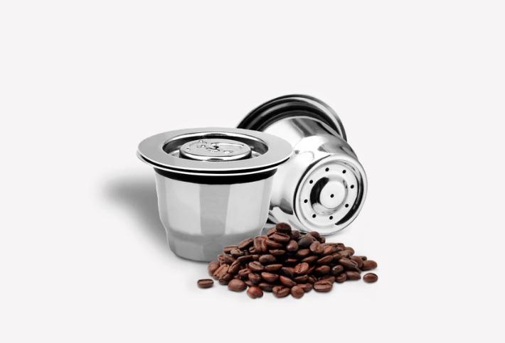 capsule cafe nespresso reutilisable en inox