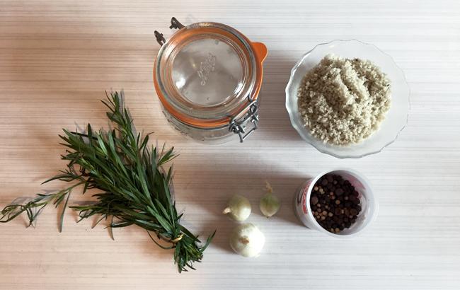 ingrédients recette cornichons maison au vinaigre