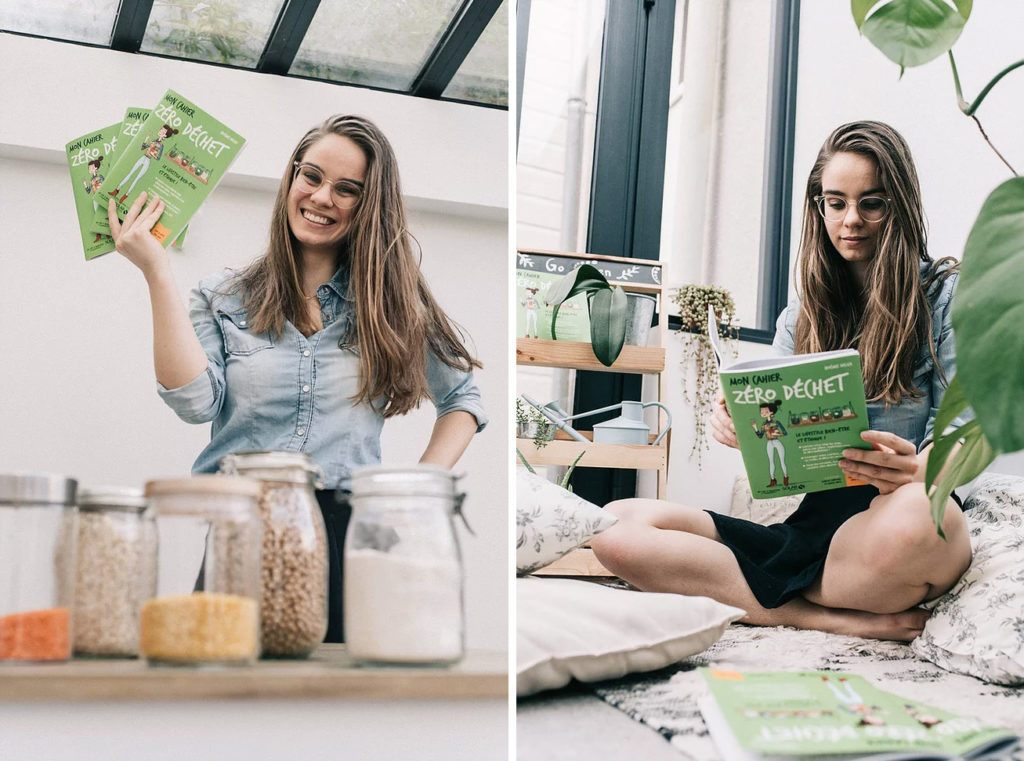 Noemie du blog naturellement green et son livre