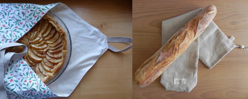 sac à baguette et sac à tarte alterosac
