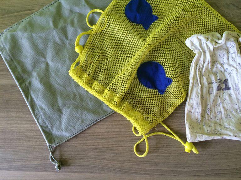 Pochons en tissu pour des courses en vrac zéro déchet