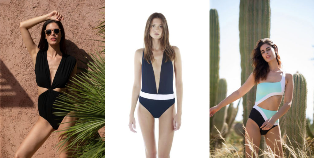 3 maillots de bain éco-responsables Luz collection