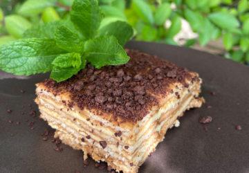 Gâteau de famille aux petits beurre